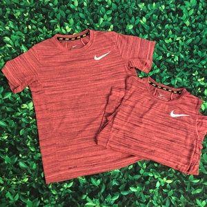 Boys Nike tee set | Medium | dri-fit | tank